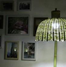 复古唯美风手工编织制作小台灯教程 传统手工竹编制作而成的小台灯 小台灯手工diy制作