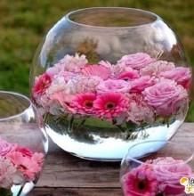 几款唯美精致漂亮的插花手艺教程 如何简单的插出漂亮精致的花朵 手艺插画