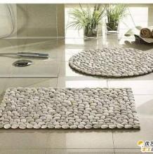 利用石头创意手工制作的石头地毯 唯美实用好看的石头地毯手工制作教程