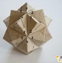 手工折纸diy教程 漂亮好看的菱角花球的手工制作教程 花球怎么手工制作