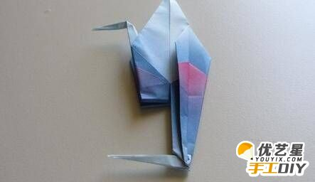 纸艺丹顶鹤的手工制作步骤教程 如何用纸折出漂亮的丹顶鹤