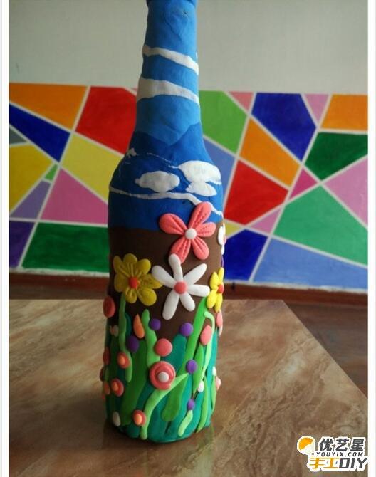 废旧啤酒瓶的手工创意改造 手工diy创意唯美的啤酒瓶改造制作教程