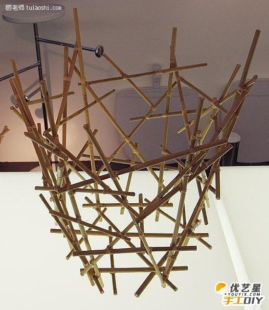 用筷子创意diy手工制作教程 怎么样让筷子变废为宝 废旧物手工diy制作
