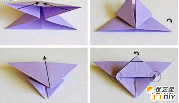 如何手工制作出漂亮精致的蝴蝶 简单的折纸过程得到diy新颖独特的小蝴