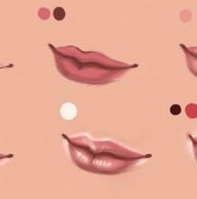 怎么给人物的嘴巴上色教程 怎么才能画好嘴巴