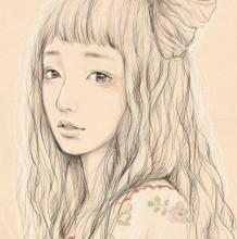 那种很美的女生铅笔画和素描是怎么画出来的?
