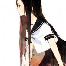 日系制服少女插画漫画图片 学生服与水手服
