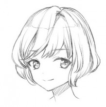 画人物头发的时候线条总是不好看?头发绘画用线的技巧讲解!