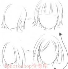 日系风格头发怎么画? 日系发型手绘教学!