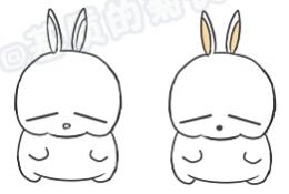 快乐小猫咪Q版卡通画画法 猫咪手绘教程 猫咪简笔画儿童画