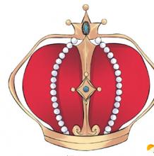 漂亮精致的皇冠怎么画?皇冠的简笔画 皇冠的绘画教程