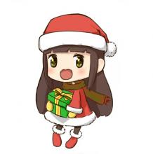 可爱萌萌的圣诞妹子怎么画?圣诞妹子的卡通画画法  圣诞妹子的手绘画教程