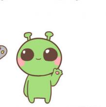 怎么简单的画出呆萌的动物?Q版外星人的卡通简笔画  外星人的手绘画教程