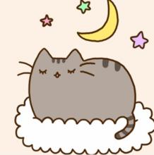 胖吉猫儿童卡通简笔画 慵懒的胖胖小猫咪简笔画教程 很多小朋友都非常的喜欢