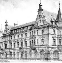 乌克兰画家复古建筑艺术插画欣赏 夫斯基·鲍威尔·保利科斯基  唯美城堡浪漫
