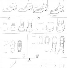 怎么绘画不同好看时尚的鞋子线稿教程 简单易懂的鞋子绘画素材