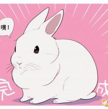 兔子儿童画 兔子拼贴画 兔子简笔画 兔子漫画教程作品图片集合 才艺君