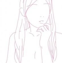 男生女生不同的萌萌哒姿势线稿插画 分男女生动作姿势线稿参考素材
