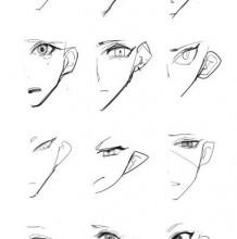 好看的有特色吸引人的眼睛怎么绘画 非常简易的特别的眼睛PS插画教程