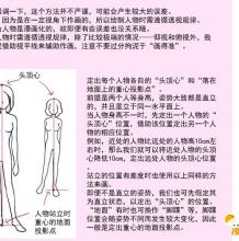人物透视图怎么画 人体透视的简单画法  人体的透视图的简单漫画插画教程