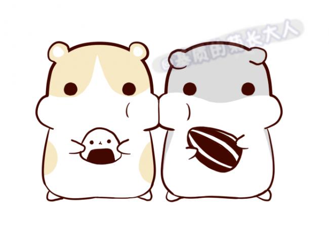 可爱贪吃的仓鼠怎么画 仓鼠简笔画绘画教程 仓鼠卡通画画法(2)