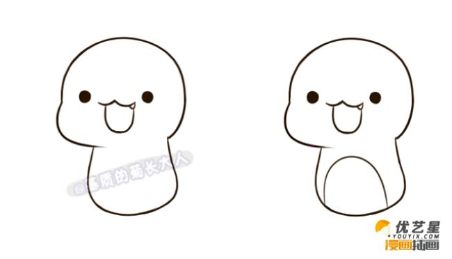 q版神奇宝贝喷火龙怎么画 精灵宝可梦宠物小精灵喷火龙的简笔画画法