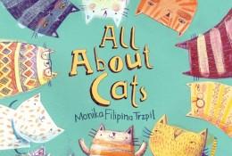 国外优秀儿童画作品欣赏 最简单的笔触和色彩画出可爱小鸟小猫