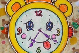 简单可爱的手表剪纸拼贴画 幼儿儿童手表手工画制作教程