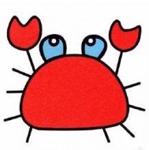 螃蟹简笔画教程图片 螃蟹简笔画怎么画 螃蟹的简笔画画法