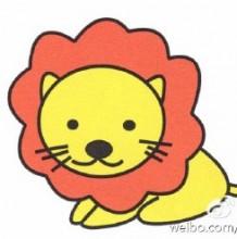 可爱小狮子简笔画教程图片 小狮子简笔画怎么画 小狮子的简笔画画法