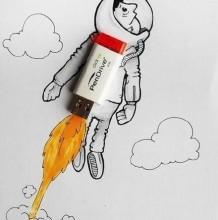 可爱的漫画与实物相结合的漫画作品图片 萌萌哒 创意绘画也简单