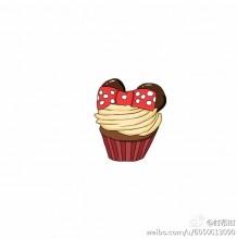 可爱可口的小蛋糕简笔画教程图片大全 3款杯式小蛋糕的简笔画画法教程