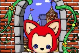 住在城堡里的阿狸简笔画教程图片彩色 有趣的阿狸简笔画画法