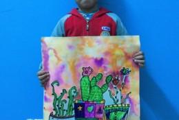有趣的盆栽剪贴手工儿童画图片彩色 创意盆栽儿童画画法 儿童盆栽植物怎么画