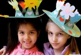 春天的皇冠 儿童创意花卉植物系皇冠剪纸手工作品教程图片