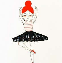 做着各种健身运动的女生简笔画教程图片 女生做各种运动的姿势简笔画画法