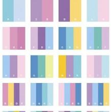 很舒服的一组配色参考 教你怎么选择合适的色彩搭配