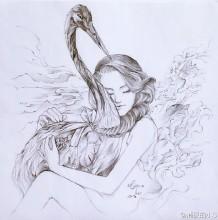 时尚帅气的铅笔画人物手绘作品图片教程