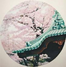 超唯美古风屋檐一角水彩画教程图片 带上色过程 有意境