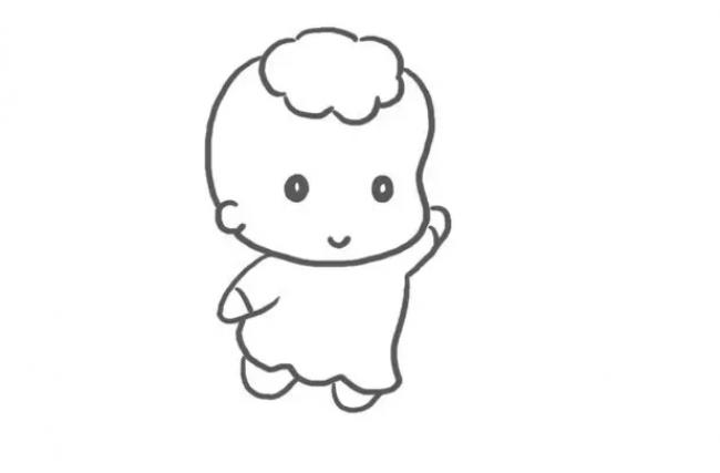 快乐的小天使怎么画 天使卡通画 天使简笔画画法 天使