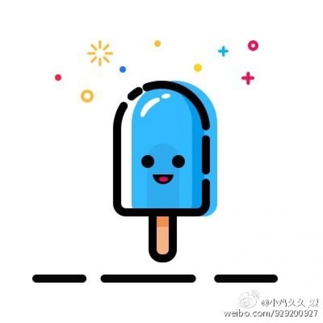 雪糕冰激凌怎么画 简单夏天冷饮简笔画画法 可爱的雪糕冰激凌卡通画