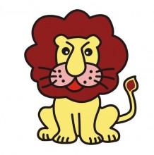 厉害的兽王狮子简笔画画法 可爱又威严的小狮子卡通画儿童画手绘教程