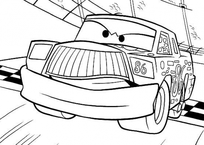 汽车总动员路霸卡通画画法 路霸汽车人简笔画儿童画手绘教程