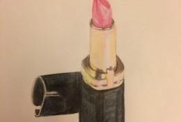 口红彩铅画教程 教你如何用彩铅画出好看的唇膏口红教程图片