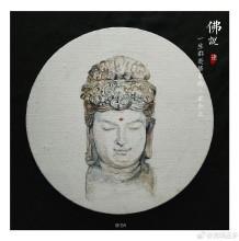 佛像水彩画手绘教程图片 石像佛像水彩淡彩画画法教程上色步骤
