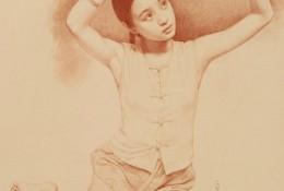 中国素描大师油画家 王沂东老师的素描作品图片欣赏