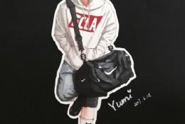 挎包时尚男青年插画图片 马克笔潮男人物插画手绘教程 带上色步骤