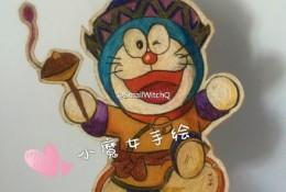 哆啦A梦彩铅画画法 哆啦A梦彩铅手绘教程图片 机器猫哆啦A梦彩铅怎么画