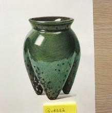唯美逼真3D立体陶瓷器皿彩铅画教程 手绘图片 陶瓷器皿质感彩铅怎么画 画法