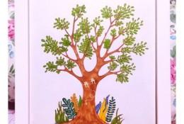 用马克笔简单的画一棵树手绘教程图片 马克笔怎么画树 树的画法
